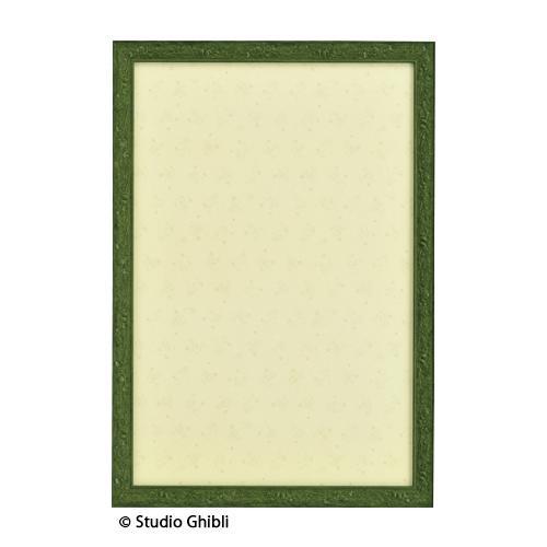 【クーポンあり】スタジオジブリ専用パズルフレーム パネルNo.10 1000ピース用 葉っぱ(緑) 30100003 ジブリ作品専用のパズルフレームです。