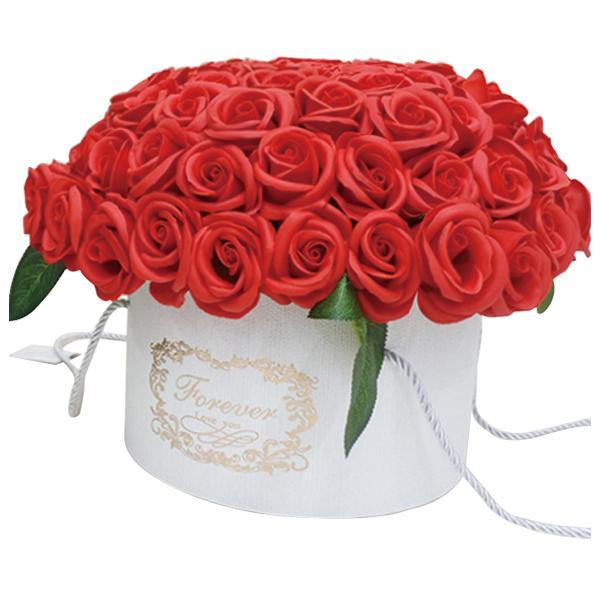 【クーポンあり】【送料無料】SAVON FLOWER アムール SBL-99 レッド 石けんで出来たオシャレな花。