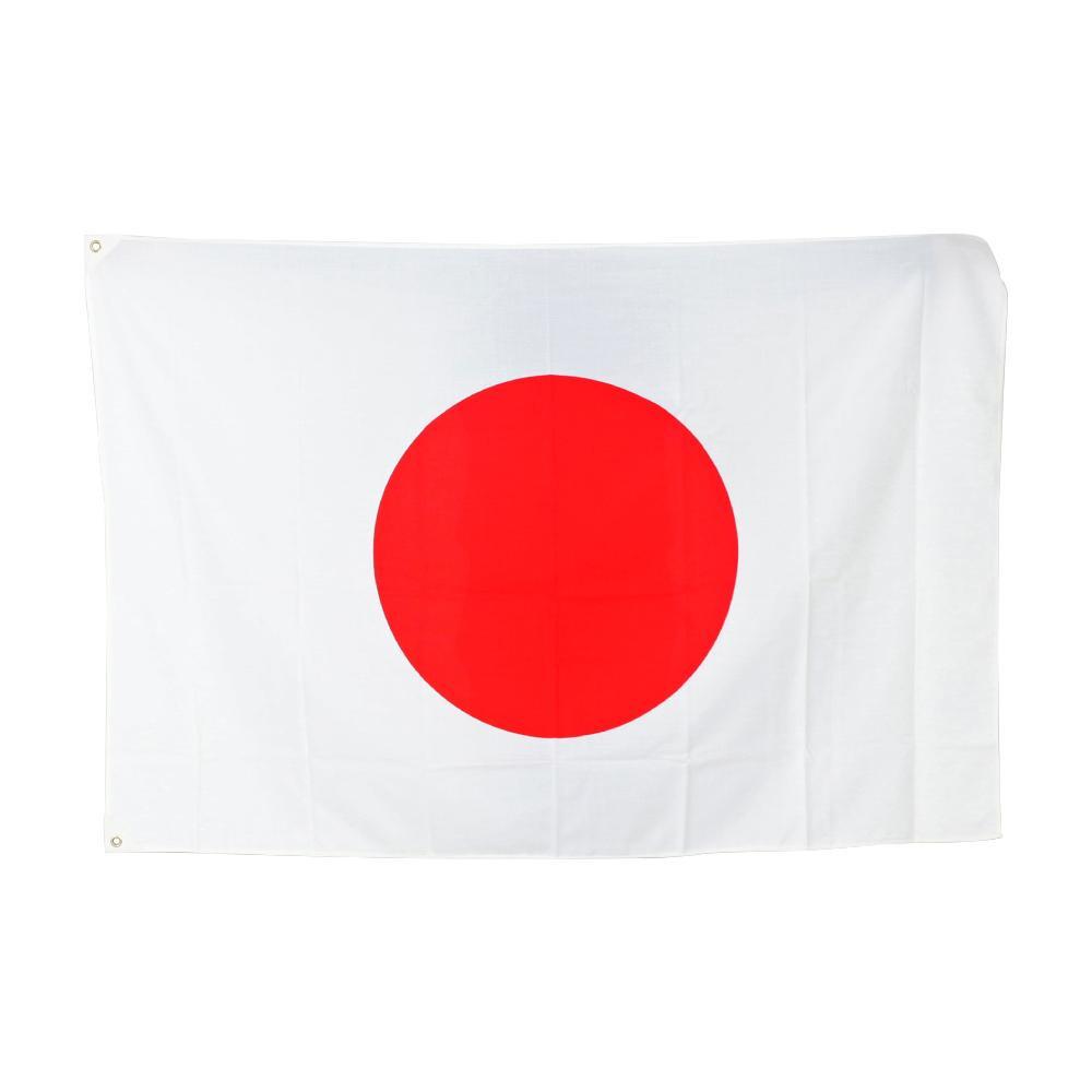 【クーポンあり】【送料無料】日の丸 100×150cm エクスランバンティング TBNFL009 アクリル製の日本国旗です。
