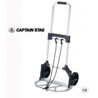 【送料無料】CAPTAIN STAG NEWアリエ ワンタッチフラットキャリー M-1960/アルミ製のキャリーです。