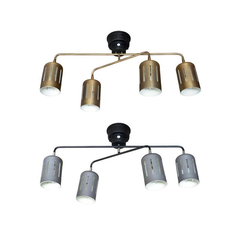 【クーポンあり】【送料無料】ELUX(エルックス) Lu Cerca(ルチェルカ) Ollare2 オラーレ2 4灯シーリングスポットライト リモコン操作で簡単点灯♪オシャレなシーリングライト。