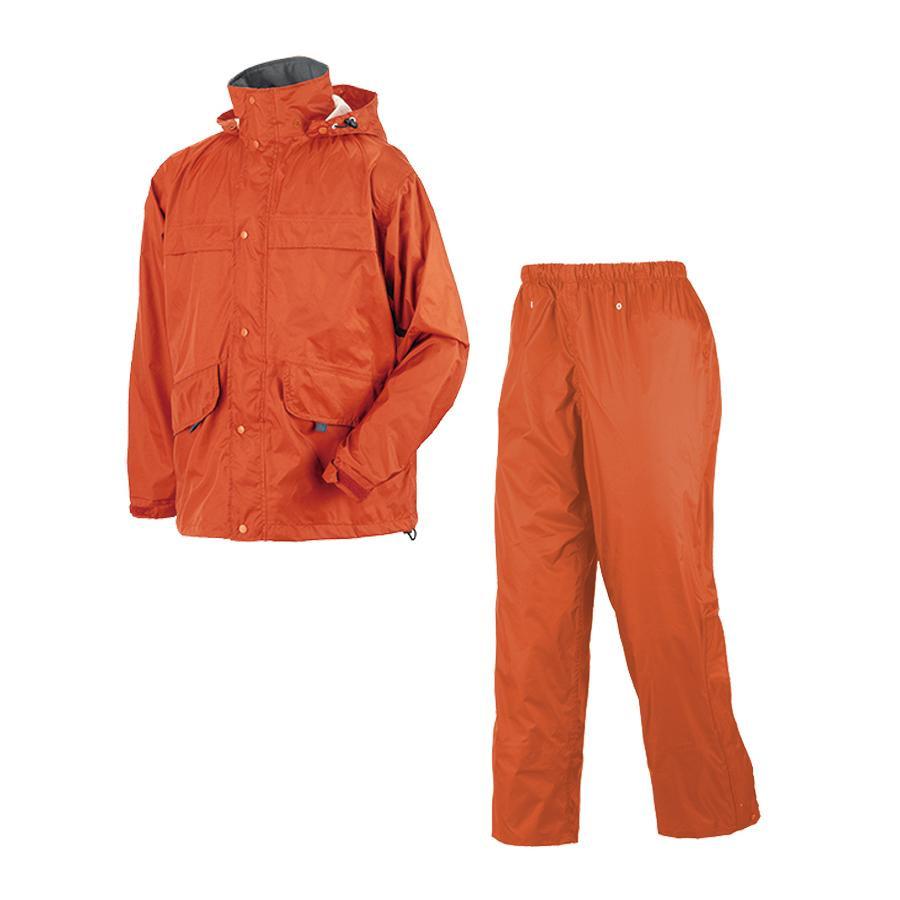 【クーポンあり】【送料無料】アーヴァン こんにちは 5L オレンジ 8800 防水性と快適性を兼ね備えた透湿素材のレインウェア。