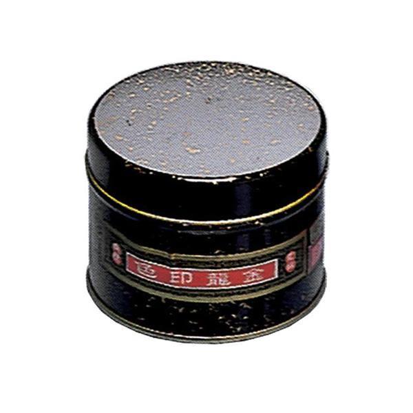 【クーポンあり】【送料無料】金龍朱肉(練朱肉) 印色 400g KI-1 鮮明な色調が得られます。