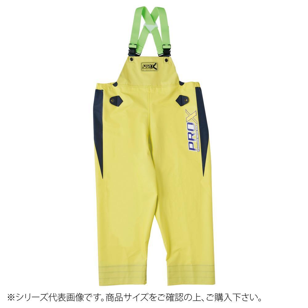 【クーポンあり】【送料無料】弘進ゴム プロエックスα 胸付ズボン ライム 3L G0614AL 水産現場だけでなく農業・林業にも最適。