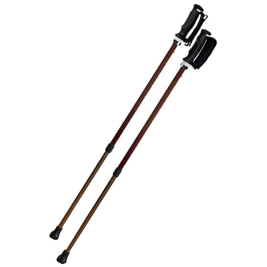 【クーポンあり】【送料無料】SINANO シナノ ウォーキングポール もっと安心2本杖 シェブロン 転倒を防ぎ安全歩行!!2本の杖で身体を支える。