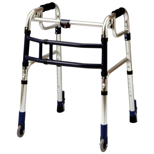 【クーポンあり】【送料無料】優羽 伸縮歩行器スライドフィット・Lタイプ 室内専用タイプ L-0193S オススメ商品