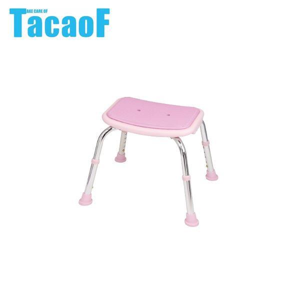 【クーポンあり】【送料無料】幸和製作所 テイコブ(TacaoF) シャワーチェア(背無) BSOC02 ピンク