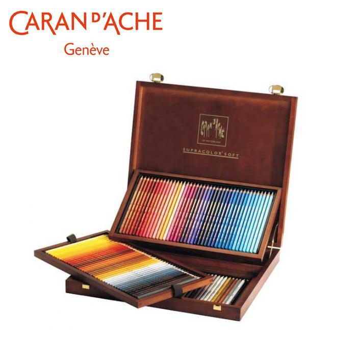 【クーポンあり】【送料無料】カランダッシュ 3888-920 スプラカラーソフト 120色木箱セット 618249 趣味で楽しまれる方にも最適。