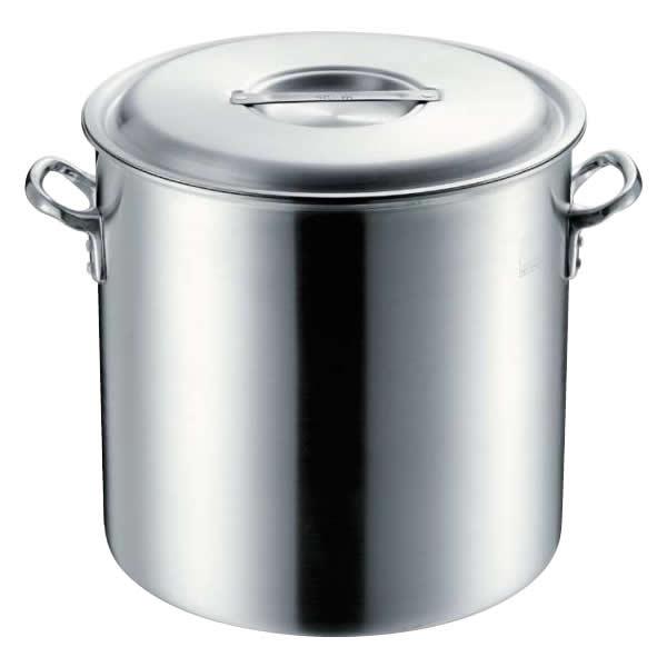 【クーポンあり】【送料無料】4335042 MTIプロガスト寸胴鍋42cm目盛付 鍋の渕がラッパ型で頑丈!厚口目盛付。