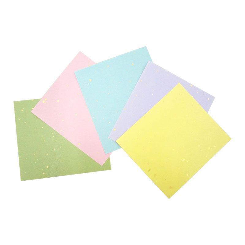 【クーポンあり】【送料無料】大色紙練習帳 五色鳥の子砂子入 10枚綴り 30セット 1481