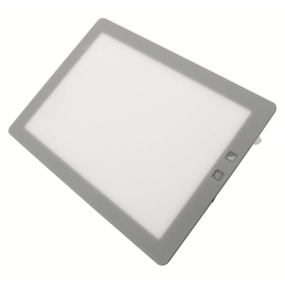 【クーポンあり】【送料無料】LEDトレース台 調光式A4型 014-0199