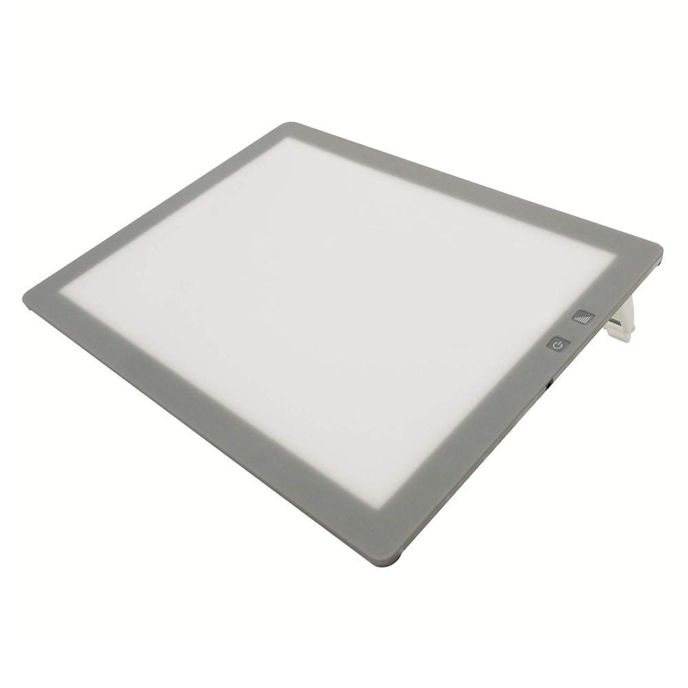 【クーポンあり】【送料無料】LEDトレース台 調光式A3型 014-0197