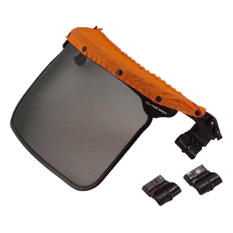 【クーポンあり】トーヨーセフティー(TOYO SAFETY) メッシュシールド 取付部品付 3007-TS アンボプロテクター用の部品。