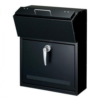 【クーポンあり】【送料無料】美濃クラフト かもんポスト Detail デテール ブラック DTL-BK ディテールに機能美を追求!