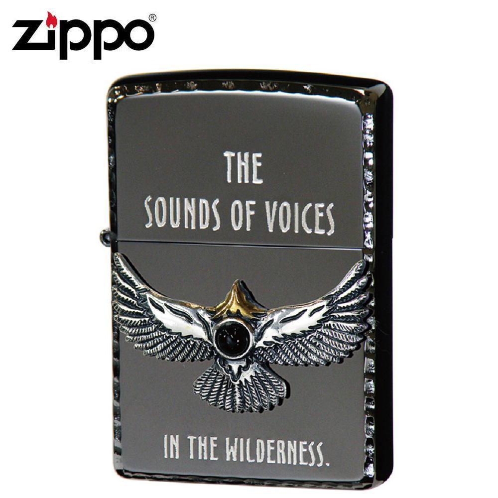 【クーポンあり】【送料無料】ZIPPO(ジッポー) オイルライター NM3-BKEA/ブラックでまとめ上げたZIPPO(ジッポー)。