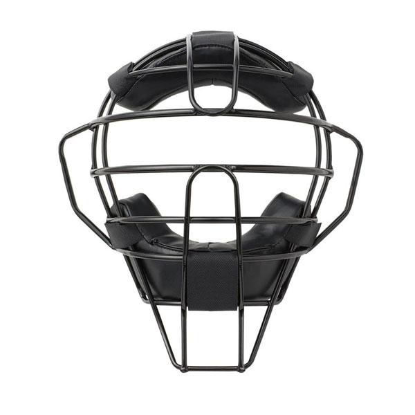 【クーポンあり】【送料無料】球審用マスク ハイグレードモデル 軟式用マスク ブラック BX83-82 軟式用の球審用マスクです。