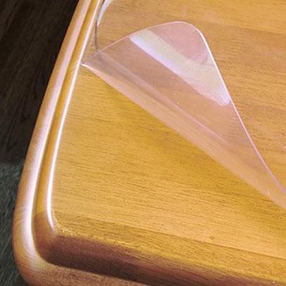 【クーポンあり】【送料無料】日本製 両面非転写テーブルマット(2mm厚) 非密着性タイプ 約900×1800長 TR2-189 テーブルにくっつきにくい非密着ビーズ加工のテーブルマット。