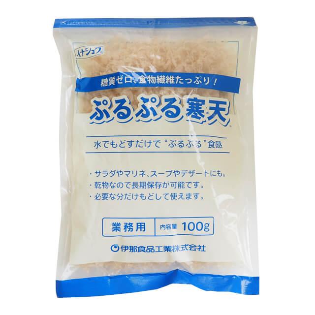 人気急上昇 伊那食品 直送商品 ぷるぷる寒天 業務用 100g