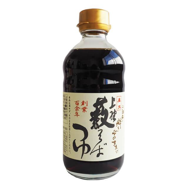 上野藪蕎麦総本店 人気の製品 藪そばつゆ ストレート 340ml 卸直営