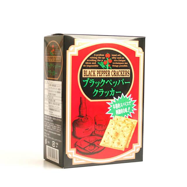 前田製菓 ブラックペッパークラッカー 5枚×6袋 一部予約 期間限定特価品