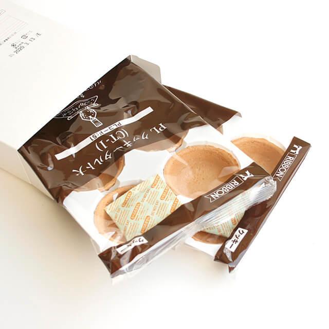 秋の収穫祭 期間限定お試し価格 720円→676円 リボン食品 PLクッキータルト大 CT-1 6個×2袋 人気商品