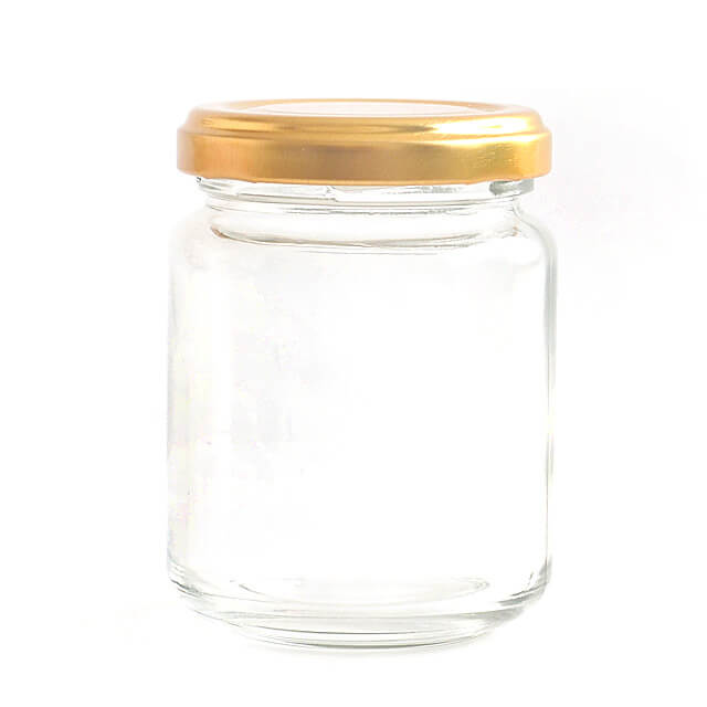 【数量限定 126円→価格98円】 マツイ BC-7ジャム瓶140ST(金キャップ) 1個