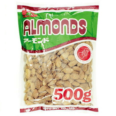 《東洋ナッツ》アーモンド【500g】