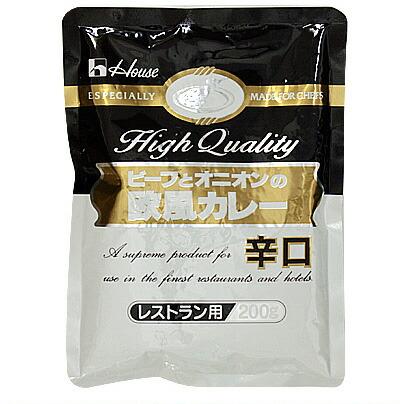 日本 ハウス バーゲンセール ビーフとオニオンの欧風カレー 辛口 200g