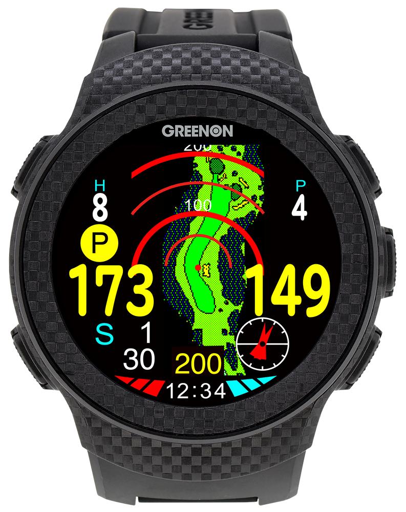 グリーンオン THE GOLF WATCH A1-II(ザ・ゴルフウォッチ A1-II)【緑ON GPS 距離計 ゴルフ】