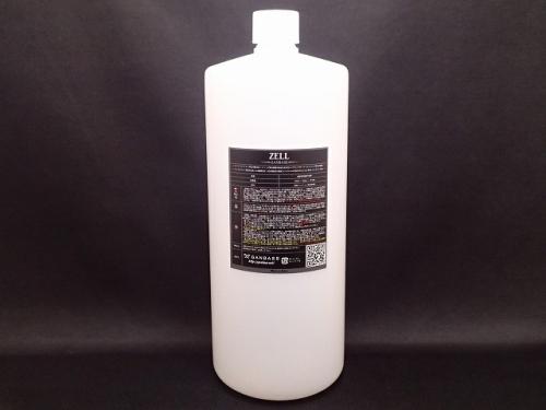 【お得用サイズ】オーバーコーティング剤と硬化系の中間を埋める次世代ハイブリッドコーティング剤 ZELL ゼル 1000ml (1L)