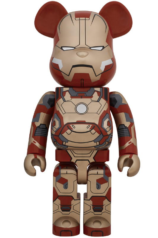 BE@RBRICK IRON MAN MARK XLII(42)1000%【MARVELCorner】