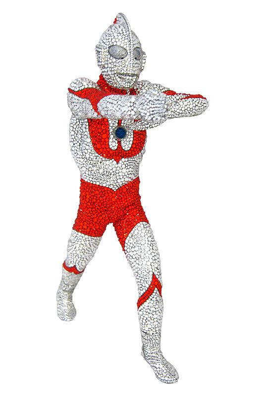 ウルトラマン 八つ裂き光輪 スワロフスキー【2014年8月末日発送商品】
