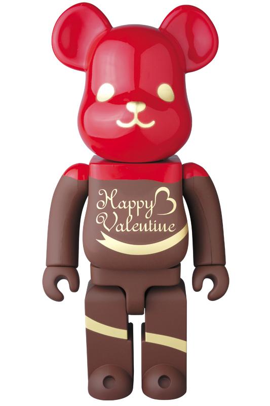 2017 Valentine BE@RBRICK Chocolat Framboise Ver.400%