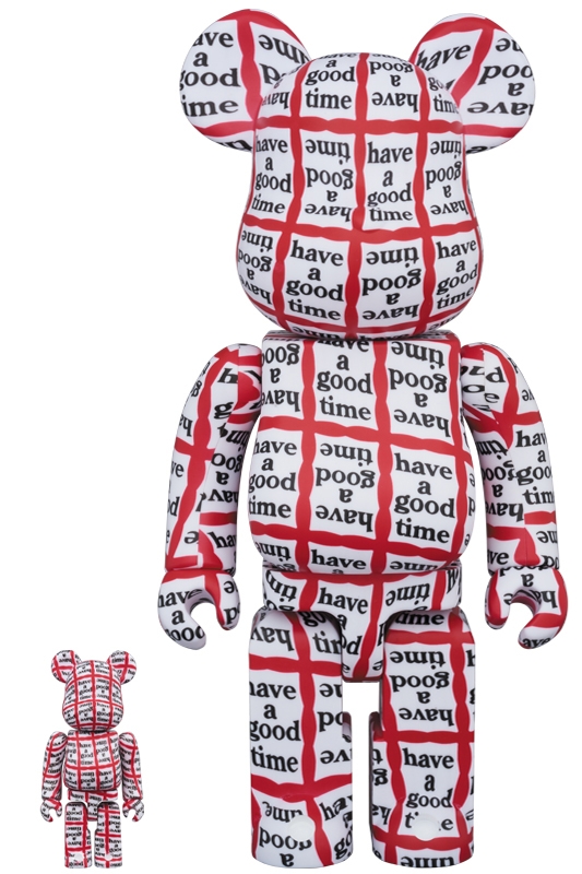 BE@RBRICK HAVE A GOOD TIME 100% & 400%