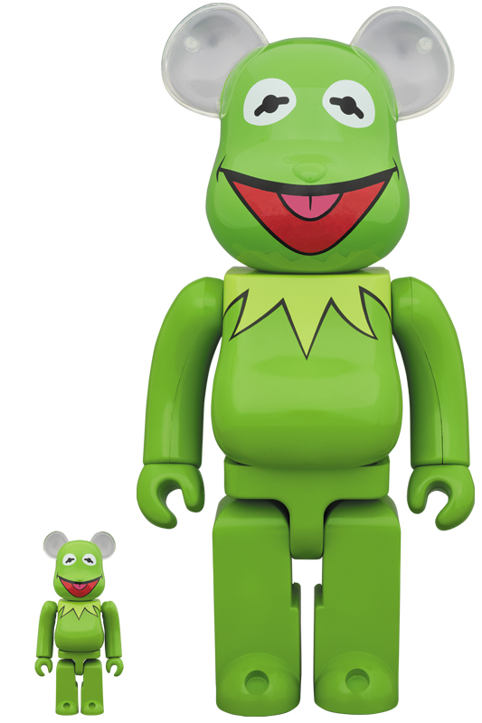 BE@RBRICK Kermit The Frog 100% & 400%