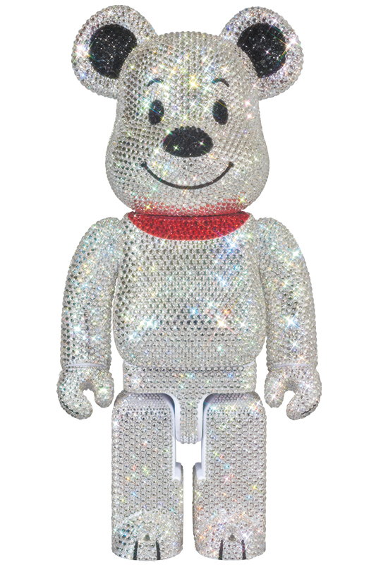 CRYSTAL DECORATE SNOOPY BE@RBRICK 400%《2019年10月以降発送予定》