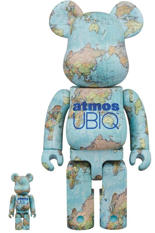 BE@RBRICK atmos x UBIQ 100% & 400%