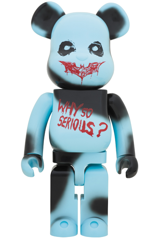BE@RBRICK THE JOKER 1000%(WHY SO SERIOUS? Ver.)