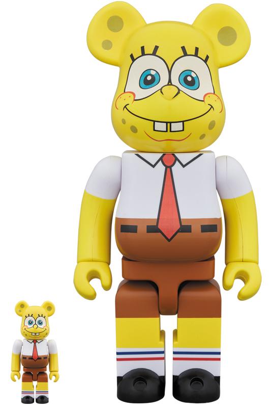 BE@RBRICK SpongeBob 100% & 400%