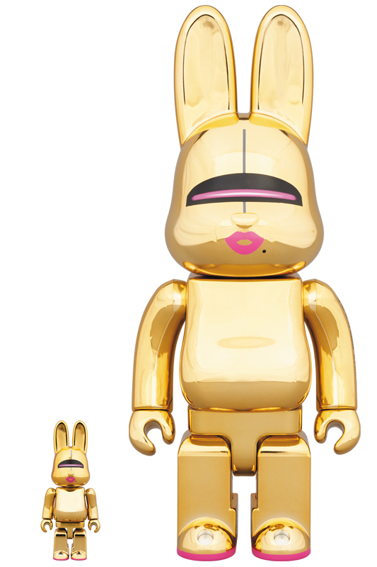 SORAYAMA SEXY ROBOT GOLD R@BBRICK 100% & 400%