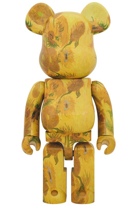 BE@RBRICK 「Van Gogh Museum」 Sunflowers 1000%《2019年12月発売・発送予定》