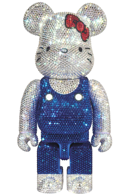 CRYSTAL DECORATE HELLO KITTY BE@RBRICK 400%《2020年3月より順次発送予定》