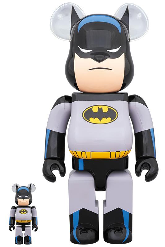 BE@RBRICK BATMAN ANIMATED 100% & 400%《2019年11月発売・発送予定》