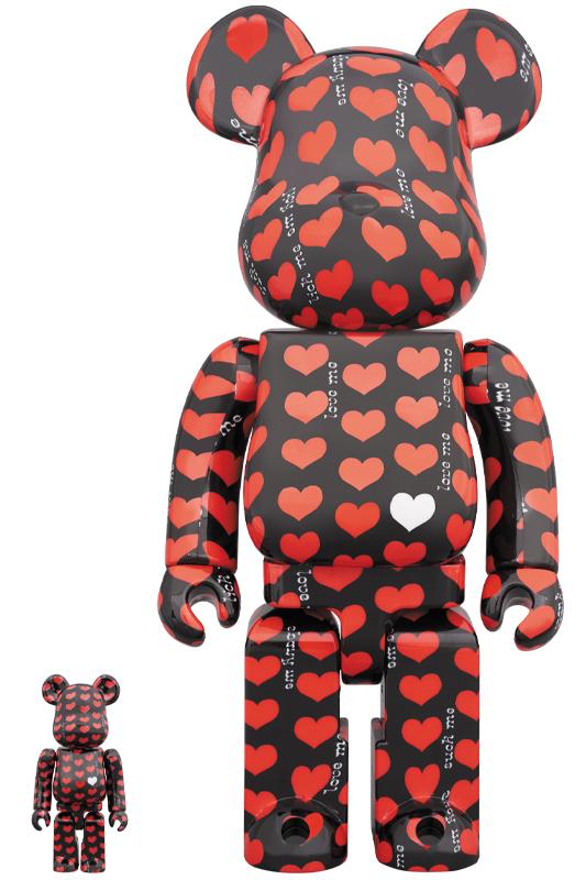 BE@RBRICK Black Heart 100% & 400%《2020年5月発売・発送予定》