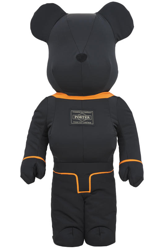 PORTER × BE@RBRICK 1000% TANKER BLACK Special Edition