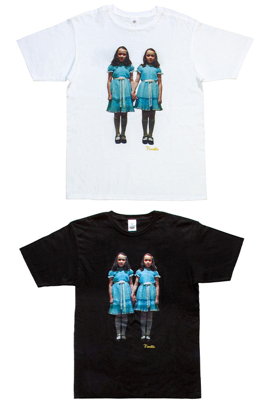 Noodle×THE SHiNiNG graphicT WHITE/BLACK