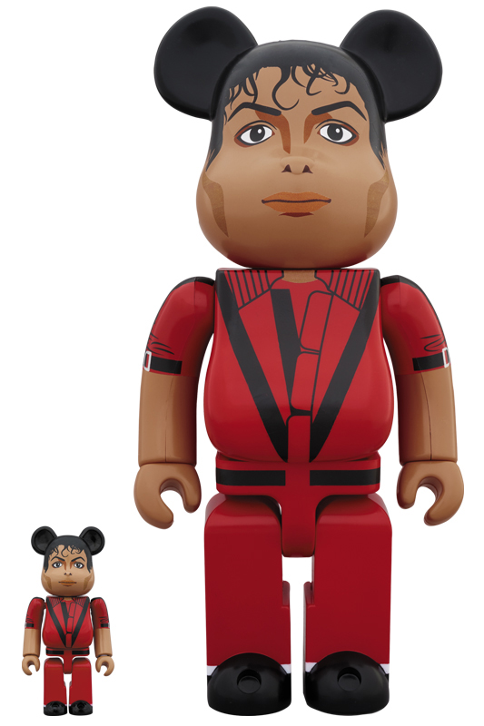 BE@RBRICK × Michael Jackson BE@RBRICK Michael Jackson Red Jacket 100%  400%
