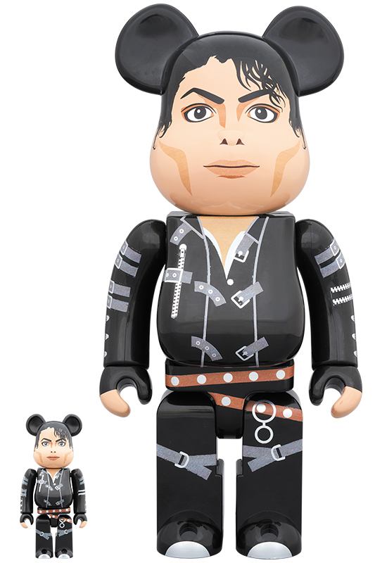 "BE@RBRICK Michael Jackson ""BAD"" 100% & 400%"