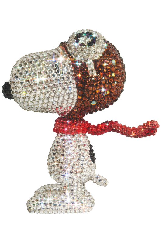 UDF CRYSTAL DECORATE SNOOPY SNOOPY THE FLYING ACE《2019年11月より順次発送予定》