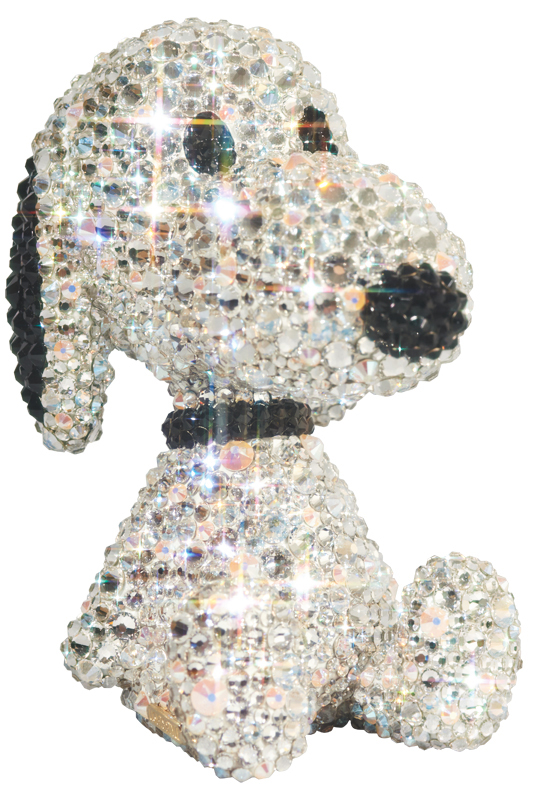 UDF CRYSTAL DECORATE SNOOPY TEDDY BEAR SNOOPY《2019年11月より順次発送予定》